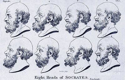 Socrates, Greek-athenian Philosopher Art Print