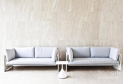 2 Sofas Art Print by Chavalit Kamolthamanon