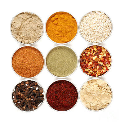 Cajun Photograph - Spices by HD Connelly