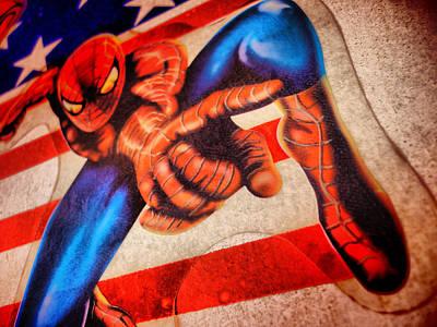 Spider Art Print by Beto Machado