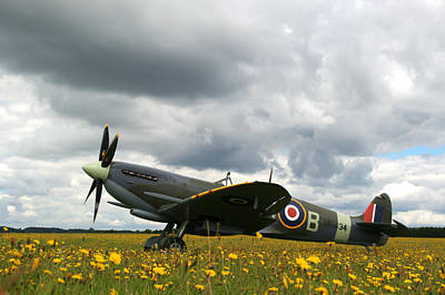 Photograph - Spitfire Mk Ixb by Chris Day