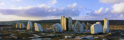 Megalith Photograph - Standing Stones, Blacksod Point, Co by The Irish Image Collection