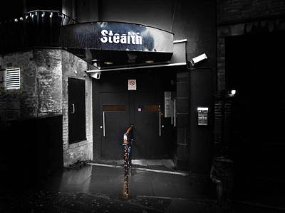 Black Photograph - Stealth by Charles Stuart