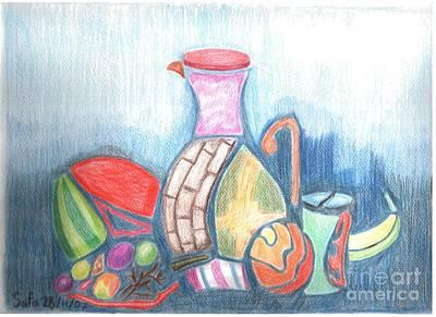 Still Life Art Print by Safa Al-Rubaye