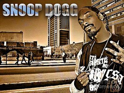 Street Phenomenon Snoop Dogg Art Print