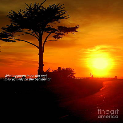Photograph - Sunset In Santa Cruz by Garnett  Jaeger
