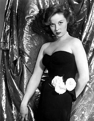 Susan Hayward, 1940s Art Print by Everett