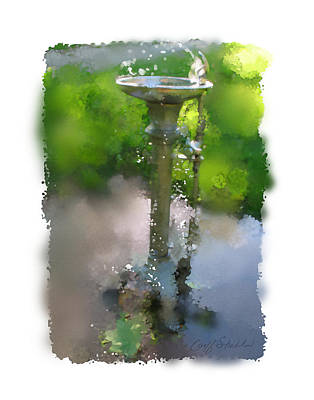 Digital Art - The Bubbler by Geoff Strehlow