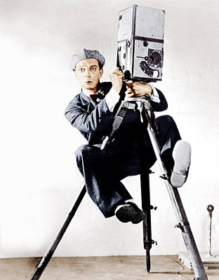 Incol Photograph - The Cameraman, Buster Keaton, 1928 by Everett