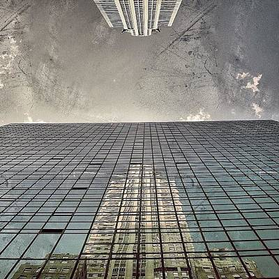 Skyscrapers Wall Art - Photograph - The Chrysler - New York by Joel Lopez
