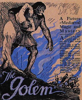 The Golem, Aka Der Golem, Wie Er In Die Art Print