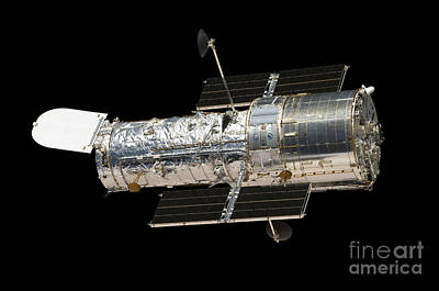 The Hubble Space Telescope Print by Stocktrek Images