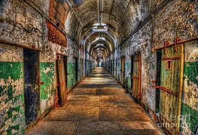 Old Door Photograph - The Long Walk by Arnie Goldstein