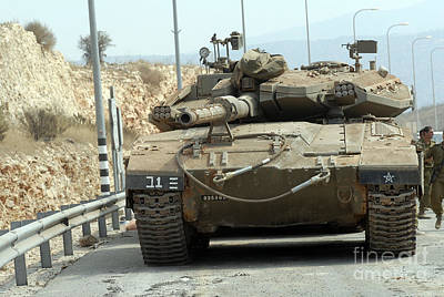 The Main Photograph - The Merkava Mark IIi-d Main Battle Tank by Andrew Chittock