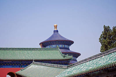 Photograph - The Temple Of Heaven by Harvey Barrison
