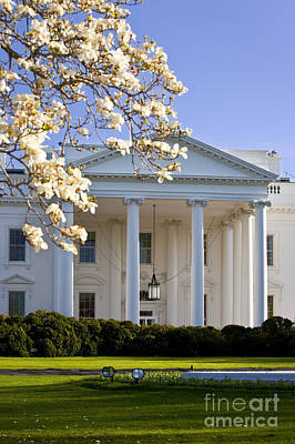 Photograph - The White House by Brian Jannsen