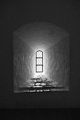Photograph - The Window Of The Castle Of Tavastehus by Jouko Lehto