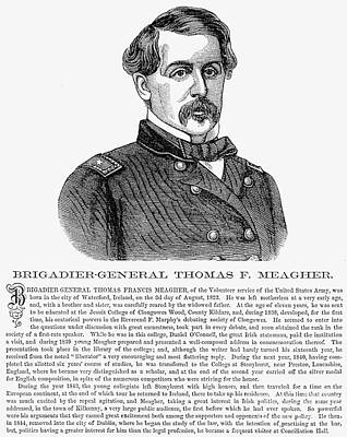 Thomas Francis Meagher Art Print by Granger