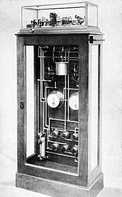 Time Standardisation Apparatus, 1913 Art Print