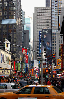 Argent Photograph - Times Square by RicardMN Photography