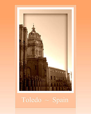 Photograph - Toledo Cathedral In Sight by John Shiron