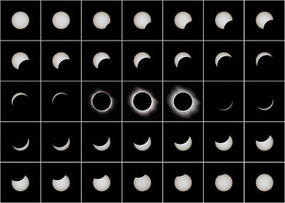 Total Solar Eclipse, 29/03/2006 Art Print by Eckhard Slawik