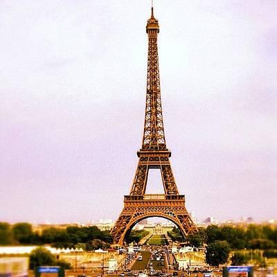Travel Photograph - Tour Eiffel by Luisa Azzolini