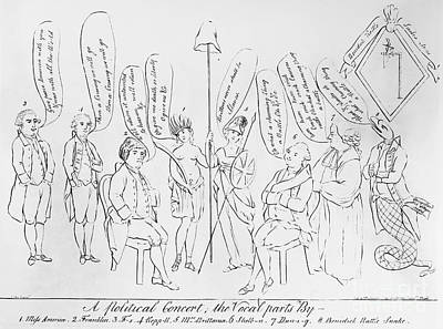 `treaty Of Paris, 1783 Art Print