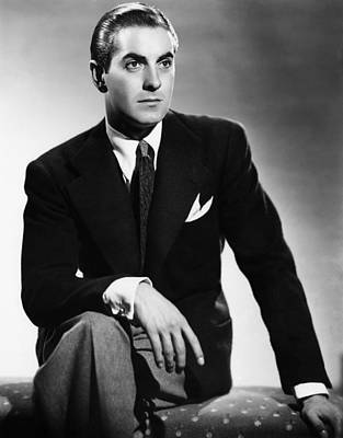 Portrait Photograph - Tyrone Power, Ca. Early 1940s by Everett