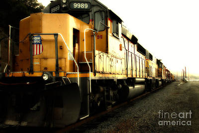 Photograph - Union Pacific Locomotive Trains . 7d10588 by Wingsdomain Art and Photography