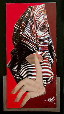 Mohammad Mixed Media - Untitled Paper Collage by Mohammad Zafar Nadaf