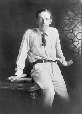 Upton Photograph - Upton Sinclair 1879-1968 American by Everett