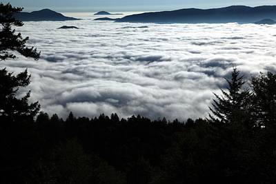 Art Print featuring the photograph Valley Of The Clouds by Doug McPherson
