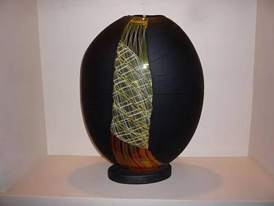 Vase Murano Glass Venice Master Schiavon Massimiliano Original