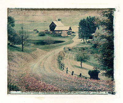 Photograph - Vermont Farm by Joe  Palermo