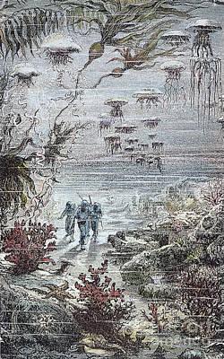 Nemo Photograph - Verne: 20,000 Leagues, 1870 by Granger