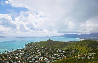 View Of Kailua, Oahu, Hawaii Art Print