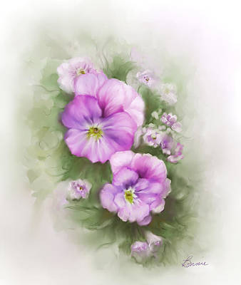 Viola Art Print by Bonnie Willis