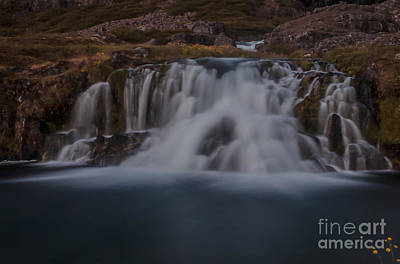 Waterfall Art Print by Jorgen Norgaard