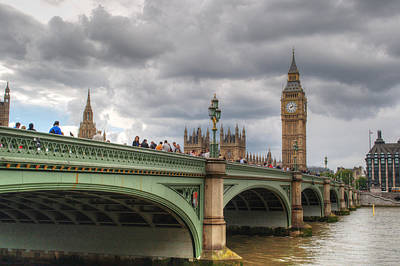 Photograph - Westminster Bridge by Chris Day