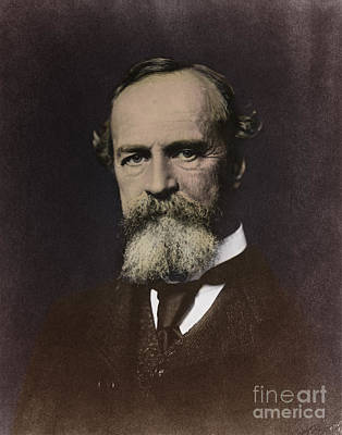 1842 Photograph - William James, American Psychologist by Science Source