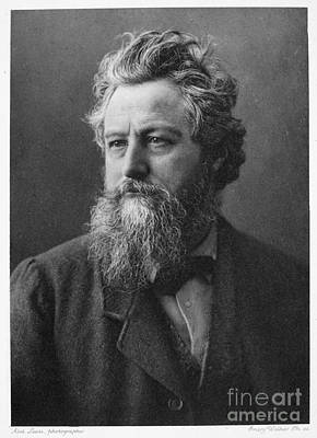 Arts And Crafts Movement Photograph - William Morris (1834-1896) by Granger