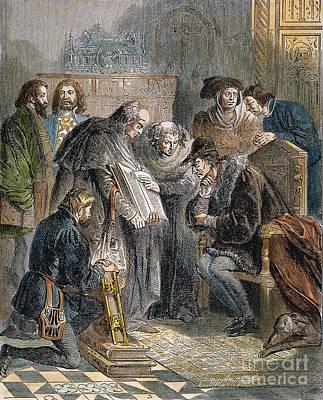 William Tyndale (1492?-1536) Art Print by Granger