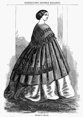Photograph - Womens Fashion, 1857 by Granger