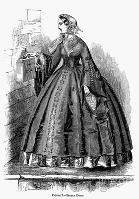 Photograph - Womens Fashion, 1860 by Granger