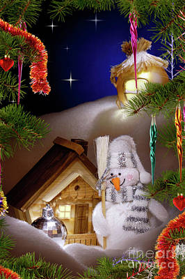 Wonderful Christmas Still Life Print by Oleksiy Maksymenko