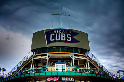 Photograph - Wrigley Field Bleachers by Anthony Doudt