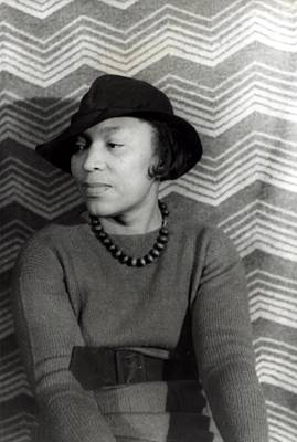 Zora Neale Hurston 1891-1960, African Art Print by Everett