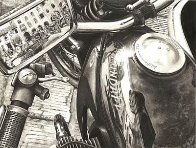 Zundapp K800 Art Print by Norman Bean