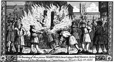 Book Of Martyrs Photograph - Foxe: Book Of Martyrs by Granger
